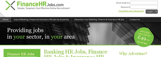Finance HR Jobs